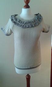 Pullover, Unikat, Oberteil, redesigned, handgemacht, individuell