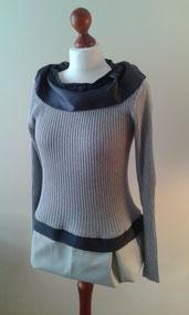 Pullover, Oberteil, Unikat, redesigned, individuel