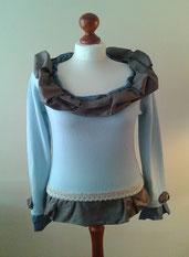 Pullover, Oberteil, redesigned, handgemacht, individuell