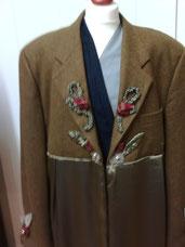 Blazer, Jacket, Oberteil, Unikat, redesigned, individuell, extravagant