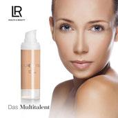 La BB crème de LR un produit novateur puisqu'elle vous donne un teint lumineux, un teint parfait en un mot un teint de rêve.