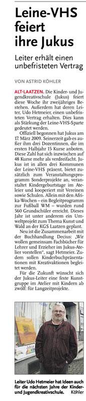 Leine-Nachrichten 18.03.2011