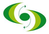 Logo: Der Punkt im Zentrum mit den Pfeilen bedeutet einen Konflikt mit möglichen Auswegen. Die halbrunden Bögen der Umrandung sind angelehnt an die Initialen CP