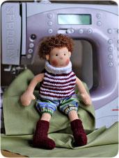 текстильная кукла сипсик для мальчика