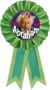 Rozet € 2,95 Abraham groen