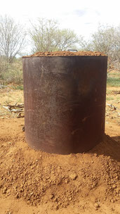 an other charcoal kiln – Acacia charcoal
