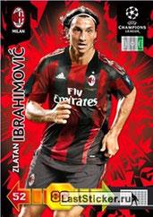 N° 201 - Zlatan IBRAHIMOVIC (2010-11, Milan AC, ITA > 2012-??, PSG)