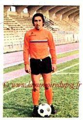 N° 149 - Jean DJORKAEFF (1970-72, PSG > 1973-74, Paris FC)