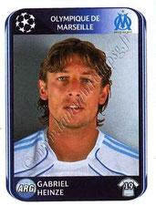 N° 365 - Gabriel HEINZE (2001-04, PSG > 2010-11, Marseille)