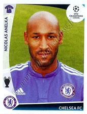 N° 224 - Nicolas ANELKA 1995-97 et 2000-02, PSG > 2009-10, Chelsea, GBR)