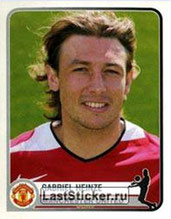 N° 220 - Gabriel HEINZE (2001-04, PSG > 2005-06, Manchester United, ANG)