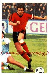 N° 204 - Louis CARDIET (1972-73, Rennes > 1973-76, PSG)
