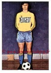 N° 270 - Francis PIASECKI (1973-74, Sochaux > 1975-77, PSG)