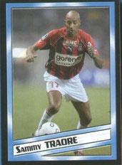 TRAORE Sammy (2004-05, Nice > 2006-08 et 2009-11, PSG)