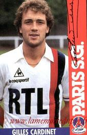 CARDINET Gilles  84-85