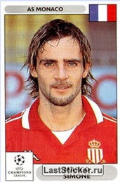 N° 170 - Marco SIMONE (1997-99, PSG > 2000-01, Monaco)