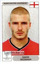 N° 258 - David BECKHAM (2000-01, Manchester United, ANG > Jan à Juin 2013, PSG)