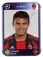 N° 416 - Thiago SILVA (2010-11, Milan AC, ITA > 2012-??, PSG)