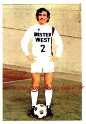 N° 065 - Raymond DOMENECH (1973-74, Lyon > 1981-82, PSG)