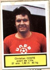Christian COSTE (1975-76, Lille > 1984-85, Entraîneur PSG)