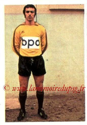 N° 202 - Daniel BERNARD (1973-74, Rennes > 1977-78, PSG)