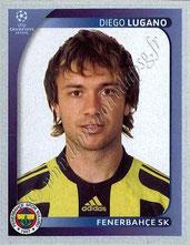 N° 267 - Diego LUGANO (2008-09, Fenerbahçe, TUR > 2011-Jan 12, PSG))