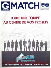 Programme  Bordeaux-PSG  2015-16