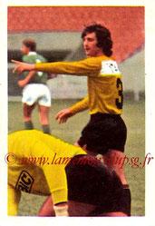 N° 160 - Jean-Paul ROSTAGNI (1971-72, PSG > 1972-73, Paris FC)