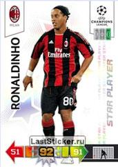 N° 208 - RONALDHINO (2001-03, PSG > 2010-11, Milan AC, ITA) (Star Player)