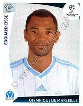 N° 185 - Edouard CISSE (1997-07, PSG > 2009-10, Marseille)