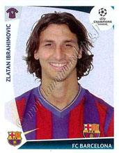 N° 358  - Zlatan IBRAHIMOVIC (2009-10, Barcelone, ESP > 2012-??, PSG)