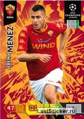 N° 261 - Jérémy MENEZ (2010-11, AS Roma, ITA > 2011-??, PSG)
