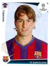 N° 351  - MAXWELL (2009-10, Barcelone, ESP > Jan 2012-??, PSG)