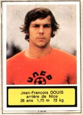 Jean-François DOUIS (1975-76, Nice > 1978-79, PSG)