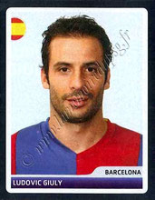 N° 017 - Ludovic GIULY (2006-07, Barcelone, ESP > 2008-11, PSG)