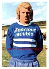 N° 027 - Daniel SOLAS (1971-72, PSG > 1973-74, Bastia)
