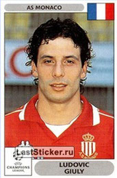 N° 164 - Ludovic GIULY (2000-01, Monaco > 2008-11, PSG)
