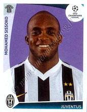 N° 030 - Mohamed SISSOKO (2009-10, Juventus Turin, ITA > 2011- Jan 12, PSG)