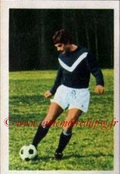 N° 061 - Alain GIRESSE (1971-72, Bordeaux > Juil à Déc 98, Entraîneur PSG)