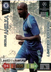 N° LE15 - Nicolas ANELKA (1995-97 et 2000-02, PSG > 2010-11, Chelsea, GBR) (Limited Edition)