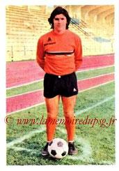 N° 154 - Bernard GUIGNEDOUX (1970-72, PSG > 1973-74, Paris FC)
