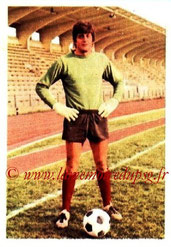 N° 147 - Guy DELHUMEAU (1971-72, PSG > 1973-74, Paris FC)