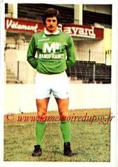 N° 235 - Jean-Michel LARQUE (1973-74, Saint-Etienne > 1977-79, Joueur / Entraîneur du PSG)
