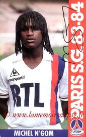N'GOM Michel  83-84