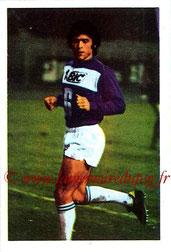 N° 166 - Bernard GUIGNEDOUX (1970-72, PSG > 1972-73, Paris FC)
