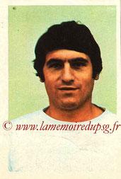 N° 029 - Albert POLI (1970-71, Angers > 1974-75, PSG)