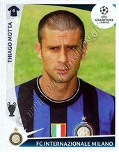 N° 373  - Thiago MOTTA (2009-10, Inter Milan, ITA > Jan 2012-??, PSG)