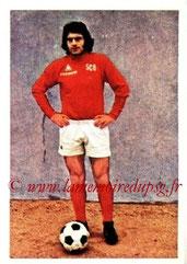 N° 014 - Albert POLI (1973-74, Angers > 1974-75, PSG)