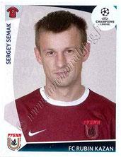 N° 409  - Sergei SEMAK (2004-06, PSG > 2009-10, Rubin Khazan, RUS)
