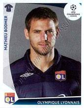 N° 306  - Mathieu BODMER (2009-10, Lyon > 2010-Jan 2013, PSG)